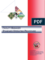 Facility Manager SOP