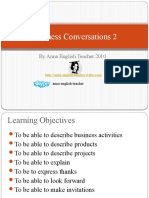 Learning English - Business Conversations 2
