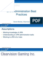 JIRA Best Practices