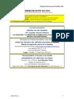 Agenda Pastoral Familiar 2015-16, 14 Octubre