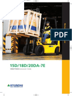 Hyundai Forklift Specification