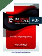 Powerful English Speaking
