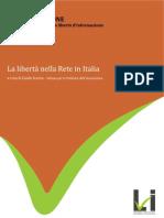 LIBRO ARANCIONE Sulla libertà d'informazione nella rete in Italia - prima edizione 2009
