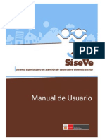Manual Registro SISEVE