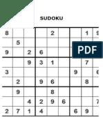 Sudoku Letra Grande