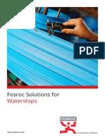 Fosroc Solutions for Waterstops Brochure