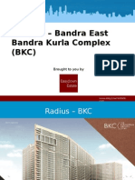 Radius Bandra Project - Pre- Launch in BKC PPt