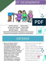 PPT Penyakit Degeneratif