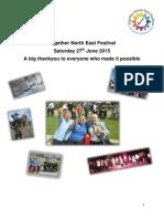 Together North East Festival- Regional Report FINAL