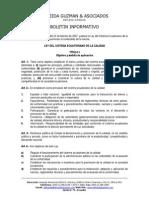 Ley Del Sistema Ecuatoriano de La Calidad - Sinopsis[1]