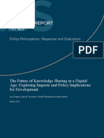 The Future of Knowledge Sharing in a Digital Age