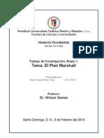 El Plan Marshall