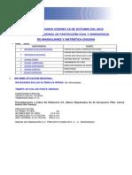 Informe Diario Onemi Magallanes 16.10.2015