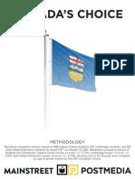 Mainstreet - Alberta Riding Polls