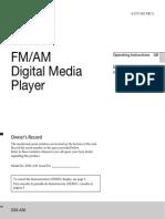 Manual Digital Media Player Sony