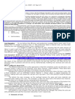Topic 1 Cost Dynamics