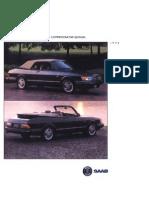 Saab 900 Convertible 1994 Ce[Opt]