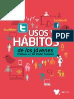 VTR Estudio Usos y Habitos de Los Jovenes en Las Redes Sociales