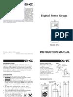 Manual Dinamometro Imada