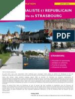 Lettre d'Information du Groupe Socialiste et Républicain de la Ville de Strasbourg 2015-2016