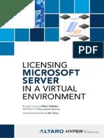 Microsoft Server Virtualization Licensing eBook