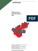 Training Course Gas Burner