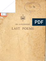Last Poems - Sri Aurobindo .pdf