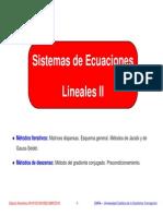 CN Sistemas Lineales II