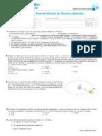 i Examen de Quimica Aplicada 2012