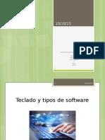 tipos de sofware y teclado