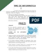 7º Informe de Informatica i