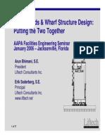 Crane Lodas and Wharf Structure Design