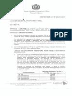 Proyecto de Ley que modificaría el Código Tributario PLA14_323