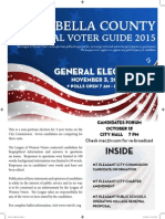 Isabella County Local Voter Guide 2015