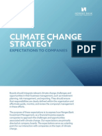 Climate Change Strategy Norges Bank