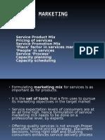02.Services Marketing(Mkt Mix)