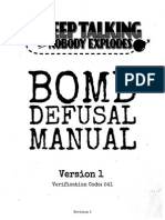Bomb Defusal Manual