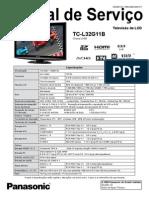 panasonic+TC-L32G11B+LH88