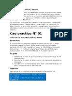 Caso Practico NIC 16 Propiedad Planta y Equipo Copia