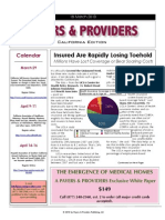 Payers and Providers, Issue of March 18, 2010