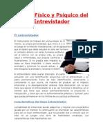 Estado Físico y Psíquico Del Entrevistador (2)