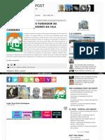 Otacilio e a Associação de Moradores da Vila Carneiro