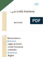 Inglés criollo limonense