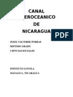 Canal Interoceanico. PortadCANAL INTEROCEANICOa