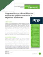 ley Ley para el Desarrollo del Mercado Hipotecario y el Fideicomiso en la República Dominicana