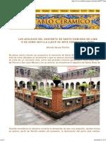 Azulejos de Santo Domingo