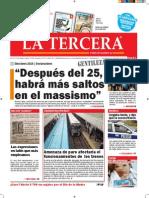 Diario La Tercera 16.10.2015