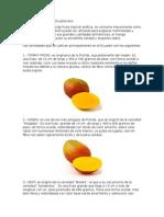 Variedades de Mango Ecuatoriano