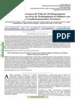 Carvalho Et Al., 2012 - Tabela de Esperança de Vida T. Pretiosum Em Trichoplusia Ni