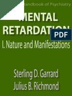 Mental Retardation i Nature Garrard Julius b Richmond